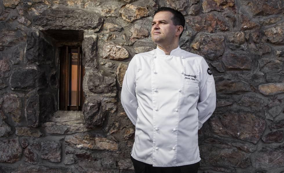 Marcos Morán, el chef que ha  llevado la fabada a Bruselas