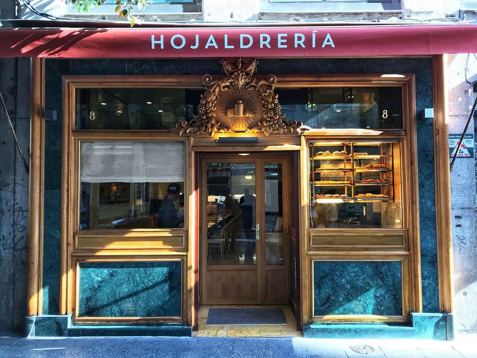 Restaurante La Hojaldrería: Primer, segundo y tercer plato de hojaldre